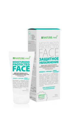 MOISTURIZED PROTECTED FACE